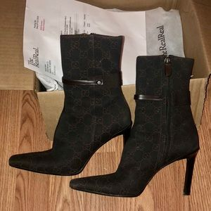 Gucci GG Ankle Boots